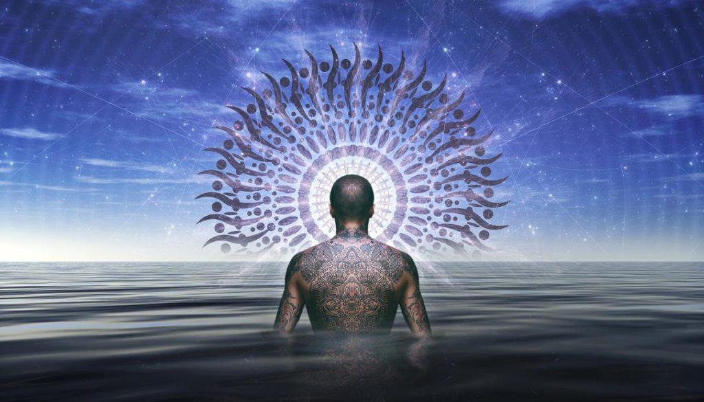 Шаман, вступающий в Океан Духа
