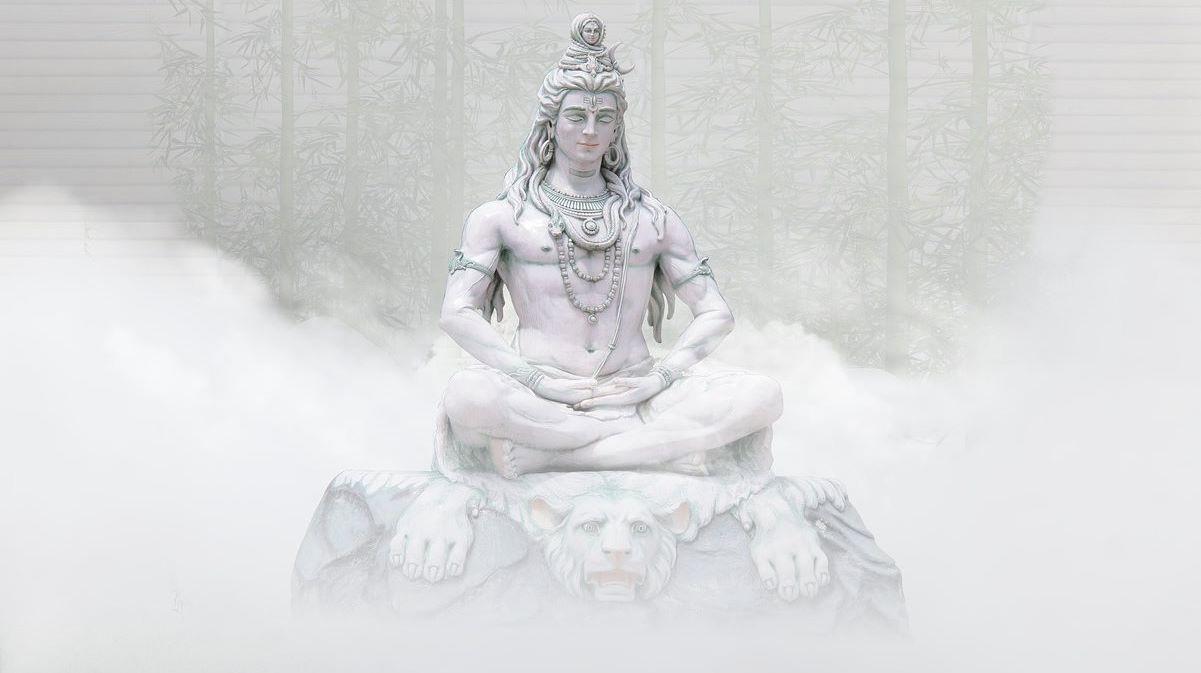 Индуистский бог Шива в теле человека