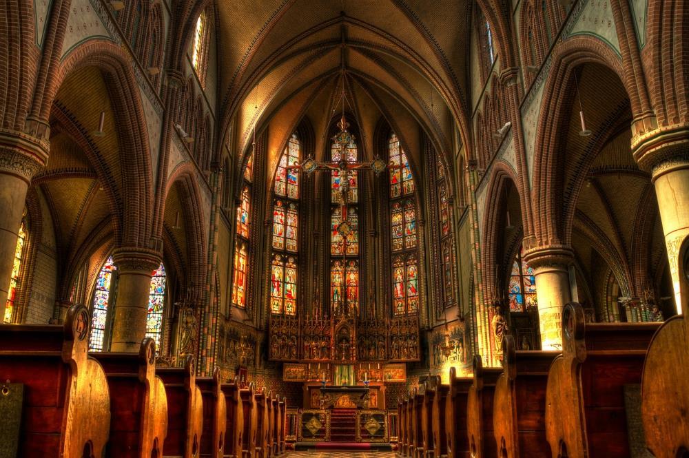 Завораживающей красоты христианская церковь