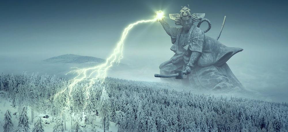 Богоподобный человек, чья молния способна причинить вред