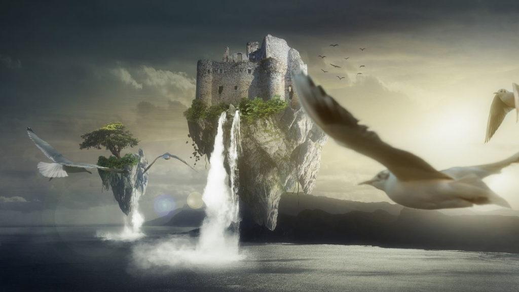 Пространство Духа: земля, парящая над водой