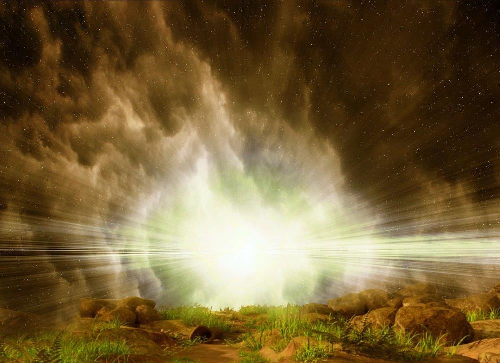 Свет Духа, пронизывающий Небеса