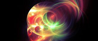Энергетические потоки, образующие фрактал