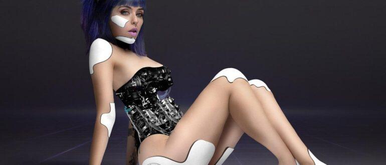 Продукт самопрограммирования - красивая женщина-робот