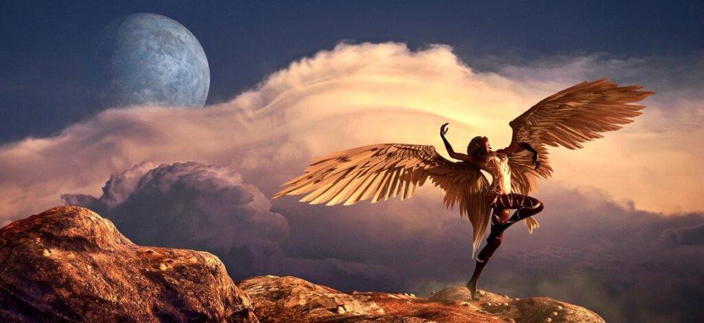 Женщина, воспаряющая на крыльях Духа