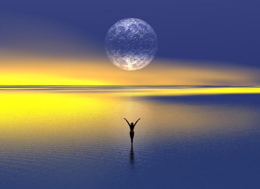 Океан, символизирующий духовное пространство